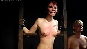 Amateur kinky teen crazy BDSM session