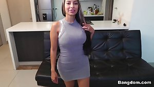 Catalina Diaz in Pounding a Colombian MILF - BangBros