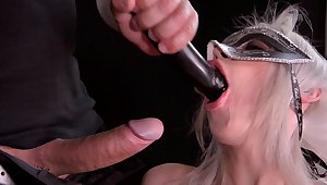 Disregarded slut leaves master to anal bang the brush steely