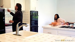 Big-boobed cock d�marche Audrey Bitoni is often fun to watch in the hoax