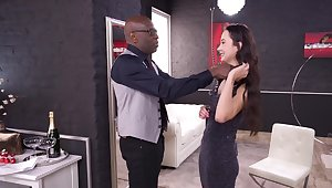 Amateur obeys the black fuck lover by enduring a lot be fitting of kinks
